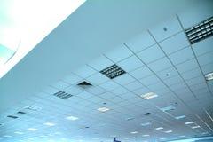 På flygplatsen Fotografering för Bildbyråer
