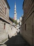 På gatorna av Istanbul Arkivfoto