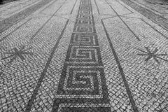 På gatorna av Lissabon Arkivfoton