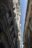 På gatorna av Venedig Arkivbild