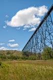 På hög nivå bro Arkivfoton