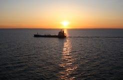 På havet #2 Royaltyfria Bilder