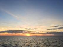 På havet Royaltyfri Bild