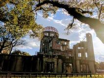 på Hiroshima royaltyfri foto