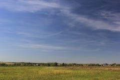 På horisonten Arkivfoton