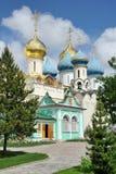 På ingången kammare in i för kyrka- och Serapion för St Nikon ` s Royaltyfri Foto