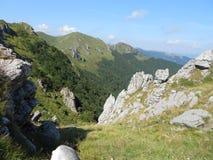 På kanten av det gamla berget Royaltyfria Foton