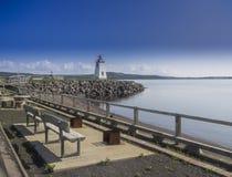 På kanten av kusten royaltyfria bilder