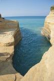 På Korfu Royaltyfri Fotografi