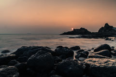 På kusten Royaltyfri Foto