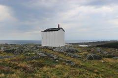 På kusten av ön Utsira i Norge Europa Arkivfoton