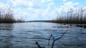 På kusterna av sjön lager videofilmer