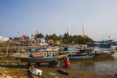 På kusterna av sydkinesiska havet Royaltyfria Bilder