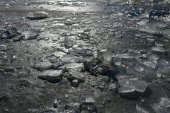 Is på laken Royaltyfria Foton