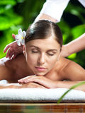 På massage igen Royaltyfri Foto