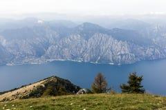 På Monte Baldo Royaltyfri Bild