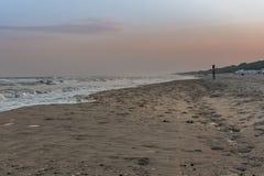På morgonen av Nordsjön Arkivbilder