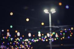 på natten royaltyfria foton