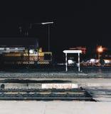 på natten Arkivfoto