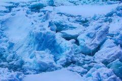 Is på nordpolen och near i 2016 Royaltyfri Fotografi