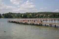 På sjön i sommar royaltyfri foto