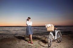 På sjösidan Fotografering för Bildbyråer
