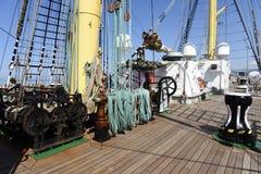 På skeppet Royaltyfri Bild