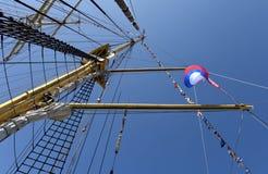 På skeppet Fotografering för Bildbyråer