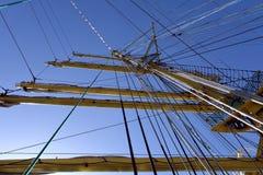 På skeppet Arkivfoton