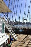 På skeppet Royaltyfri Fotografi