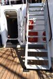 På skeppet Royaltyfria Foton