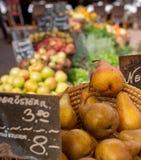 På stadsmarknaden Wien - Österrike royaltyfri fotografi