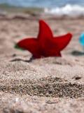 På stranden 2 Arkivfoto