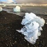 Is på stranden Royaltyfri Fotografi