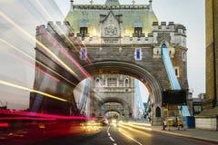 På tornbron av London Royaltyfria Foton