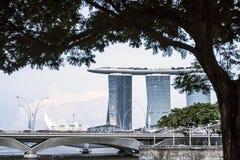 På tre ben Singapore Royaltyfri Fotografi