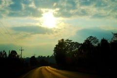 På vägen Royaltyfria Foton