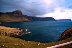 På vägen till ön av Skye från Inverness royaltyfria foton