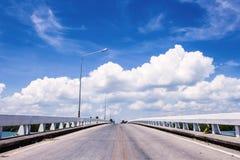 På vägen till himmel Arkivfoto