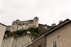 På vägen till slotten Royaltyfri Fotografi