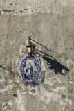 På väggarna av Portugal Fotografering för Bildbyråer