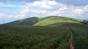 På Velkaen Fatra Mts Fotografering för Bildbyråer