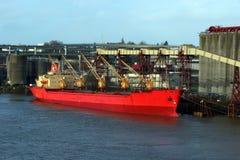 påfyllande ship Royaltyfri Bild