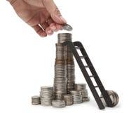 Påfyllning av finansiella reserver Arkivfoton