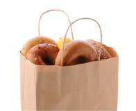 Påse mycket av baglar Royaltyfri Fotografi