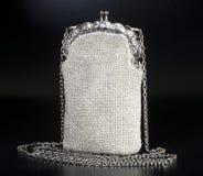 påse prydd med pärlor afton Royaltyfri Bild