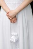 påsebrud som rymmer litet bröllop Royaltyfria Bilder