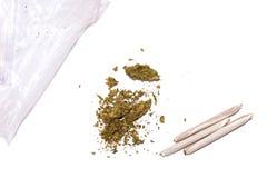 påsen joints marijuana Royaltyfri Fotografi