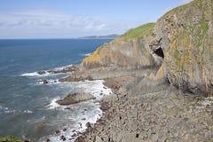Påsig punkt i norr Devon Royaltyfri Foto