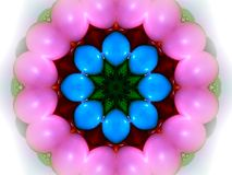 Påskäggkaleidoscope Royaltyfri Foto